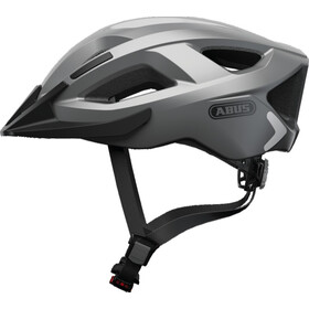 ABUS Aduro 2.0 Cykelhjelm, glare silver